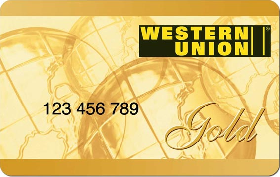 western union gold card punkte