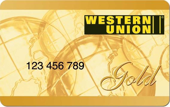 Western Union Gold Card Punkte Abfragen