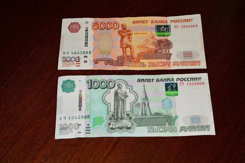 Размеры 5 тысячной купюры в см обозначение рубль символ