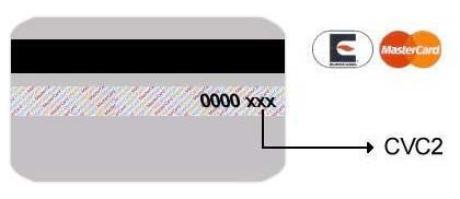 CVC2 Mastercard-карты  (9521 bytes)
